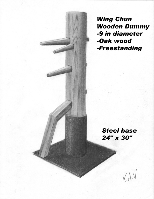 Freestanding Wooden Dummy for Sale