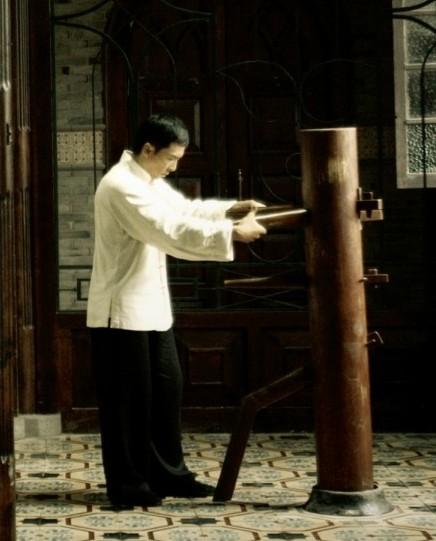 ip man movie poster chinese Boneka kayu untuk berlatih kungfu wingchun